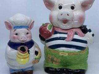 IntIJl Art pig cookie jar