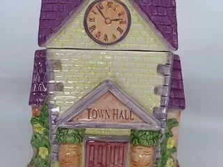 Town Hall cookie Jar