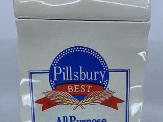 Pillsbury Best All Purpose Flour cookie jar