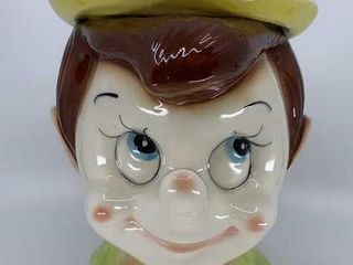 Vintage Pinocchio cookie jar
