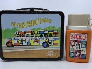 1971 The Partridge Family lunchbox   thermos