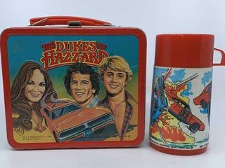 1980 Dukes of Hazzard lunchbox   thermos
