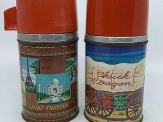Chuck Wagon thermos   Globe Trotter thermos