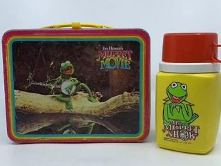 1979 Muppet Movie lunch box   thermos