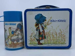 1979 Holly Hobbie lunch box   thermos