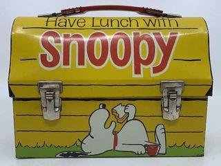 1968 Have lunch with Snoopy dome lunchbox