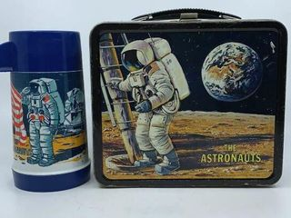 1969 Astronauts lunchbox   thermos