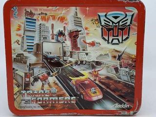 1986 Transformers lunchbox