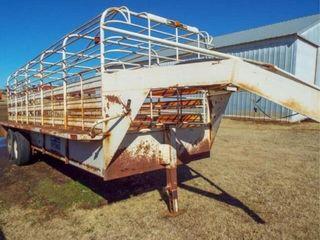 20 x6  Gooseneck stock trailer