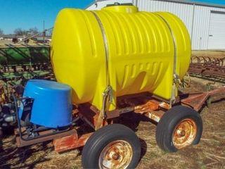 500 Gallon Nurse Tank w  tandem axle