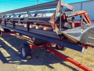 Case 30  Model 1010 Header   EZ Trail 672 Trailer