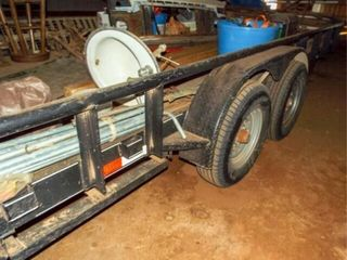 2014 18 X7  bumper trailer 235 80R16