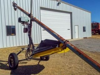 25  x 5  Auger w  electrical driven motor