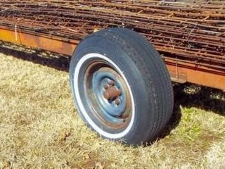 20  Frame Trailer w  hitch pin NO CONTENTS
