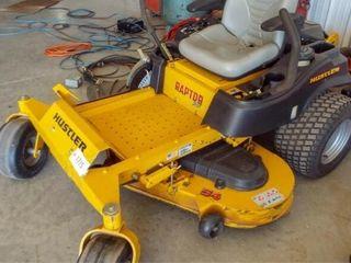 Hustler 54  Raptor SD mower