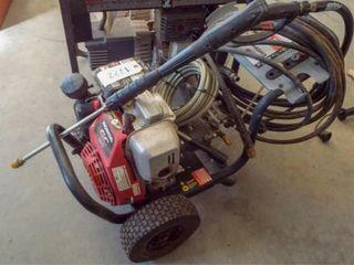 Simpson 31 PSI Power washer  Honda GC 190 motor