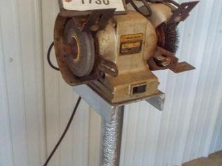 Black   Decker grinder 6  HD on stand