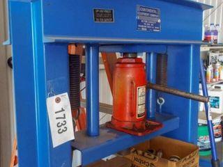 30 ton press on stand