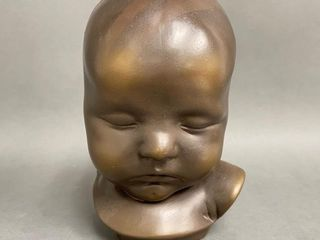 Beautiful Plaster Baby Bust CEBRvP 521