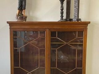 Early 20th Century Blind China Cabinet