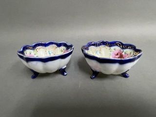 Pair of Victorian Footed Cups