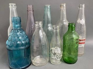 Collection of Early Soda and Misc  Bottles