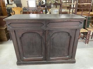 19th Century Two Door Drawer Sideboard