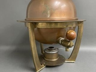 large Copper Kettle for Mulled Wine