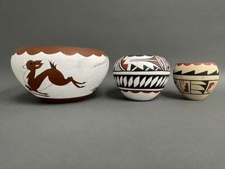 Grouping of New Mexico Pottery Bowls