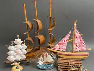 lot Nautical Sailing Ships and Collectables