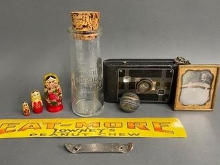 lot of Antique Collectables as Shown