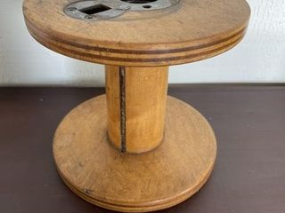 Industrial Mill Spool with Metal Inserts