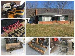 Online Only Auction - 13+/- Acre farm w/House & Equipment