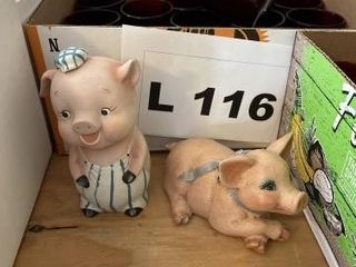 Misc  piggy banks