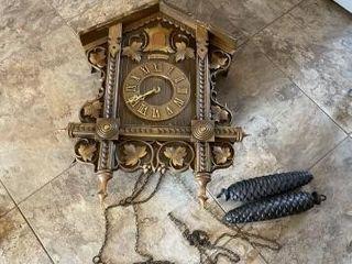Vintage Anna 1879 cuckoo clock