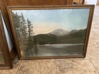2 OK Shager oil paintings