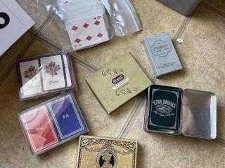 Vintage playing card decks