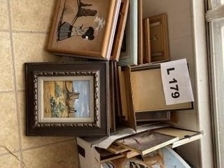 Indian paintings and picture frames