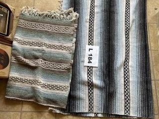 Indian like rugs  blue 6IJx4IJ approx  and green