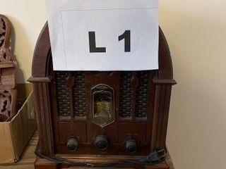 Vintage table top radio