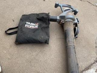Task Force electric blower mulcher