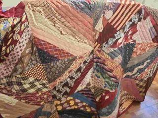 Vintage quilt  approx  72IJX80IJ