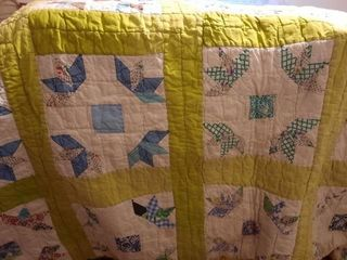Vintage quilt  approx  60IJX70IJ