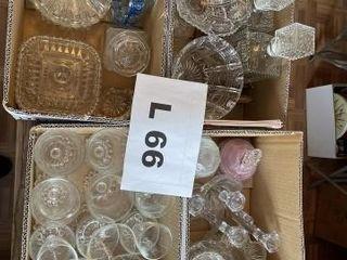 Crystal decanterIJs  vintage glassware