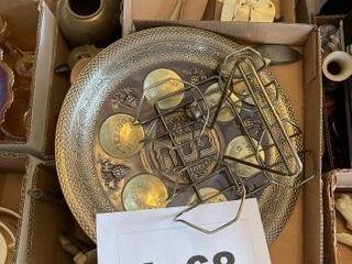 Miscellaneous brass pieces