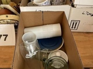 Miscellaneous coffee cups