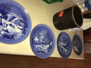 Hanging collectors plates