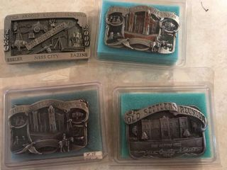 Ness County Old Settlers Day belt buckles