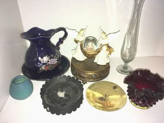 Miniature bowl and pitcher set