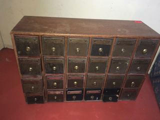 Paper file drawers